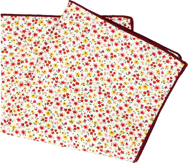 Poszetka recman w abstrakcyjne wzory
