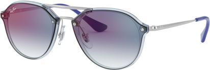 Ray-Ban Okulary Przeciwsłoneczne Ray Ban RJ 9067SN Junior Blaze Doublebridge 7051X0