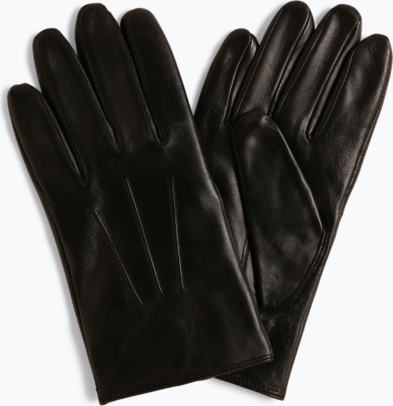 Rękawiczki Boss ze skóry