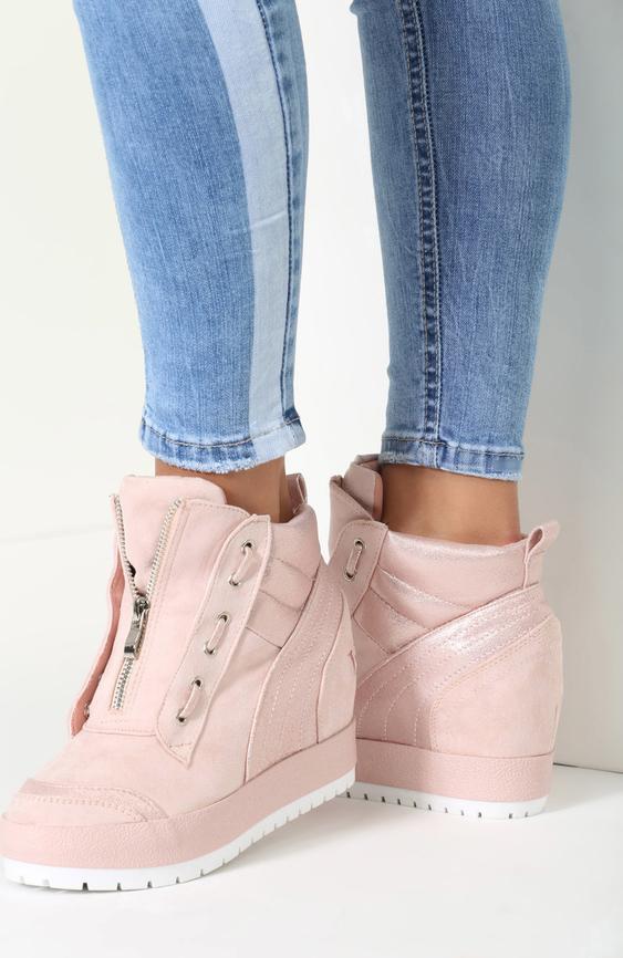 Renee różowe sneakersy it's me