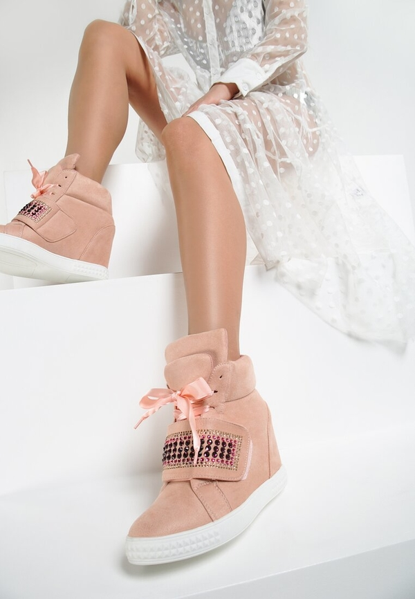 Renee różowe sneakersy want me