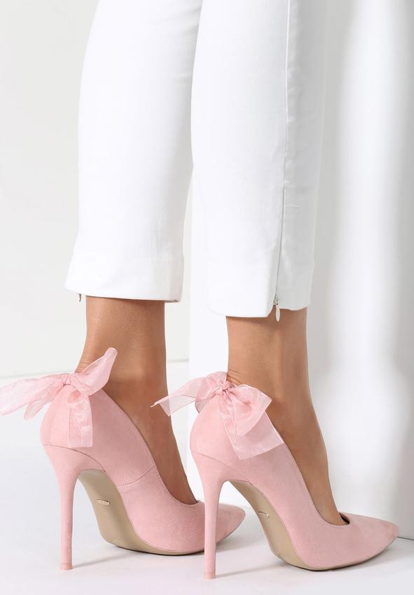 Renee różowe szpilki veil