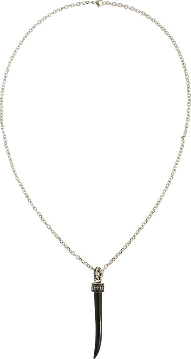 ROYAL-EGO Łańcuszek 'Necklace Tooth silver'