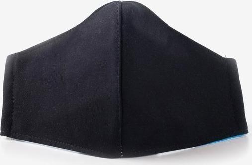 Royalfashion.pl Czarna 3 warstwowa maseczka ochronna na twarz - Maseczki