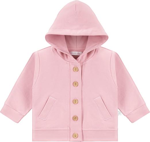 Różowa bluza dziecięca Ewa Collection dla dziewczynek