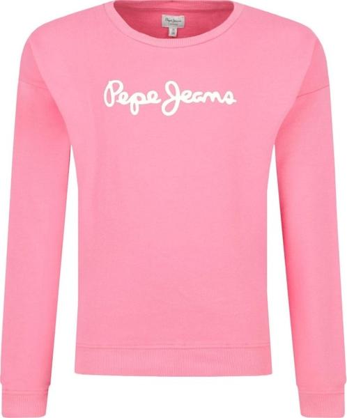 Różowa bluza dziecięca Pepe Jeans