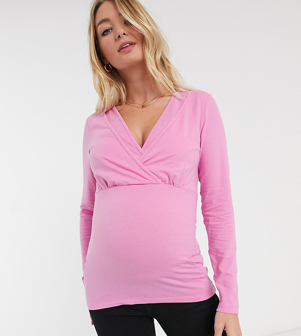 Różowa bluza Mama Licious