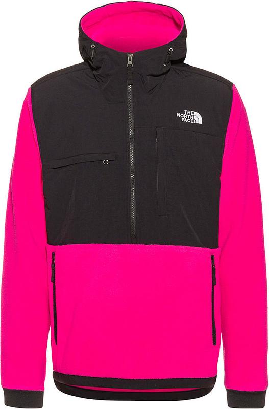 Różowa bluza The North Face z plaru