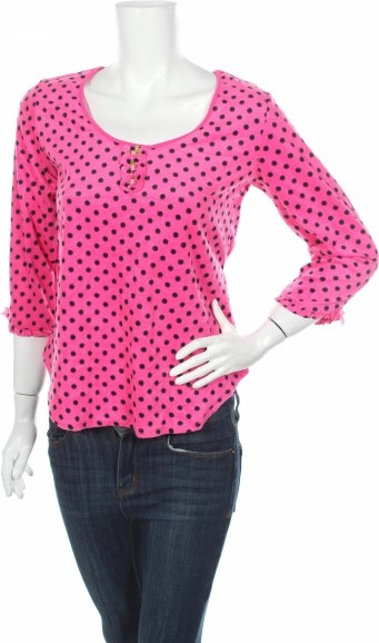Różowa bluzka Betsey Johnson