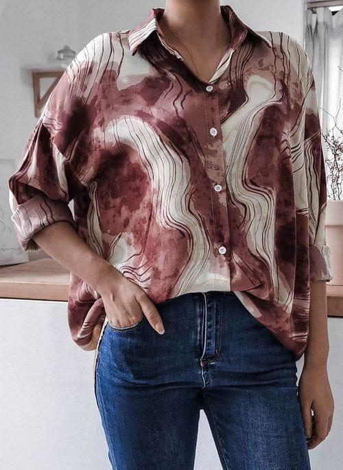 Różowa bluzka Cikelly