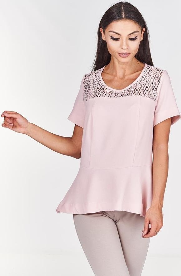 Różowa bluzka Fokus