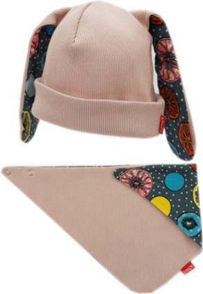 Różowa czapka Bexa