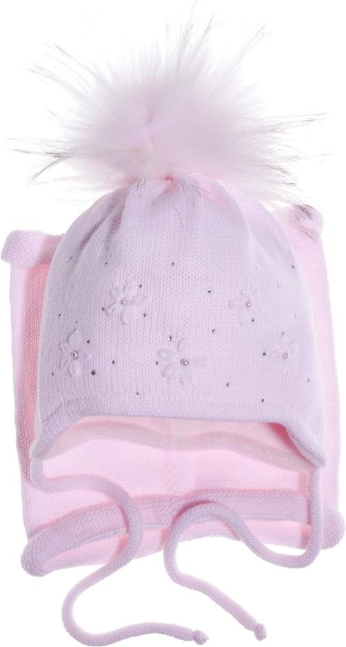 Różowa czapka Czapoba