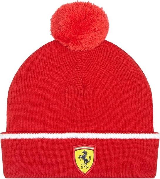 Różowa czapka Scuderia Ferrari F1