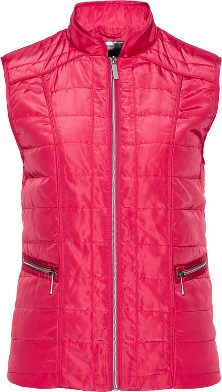 Różowa kamizelka bonprix bpc selection w stylu casual krótka