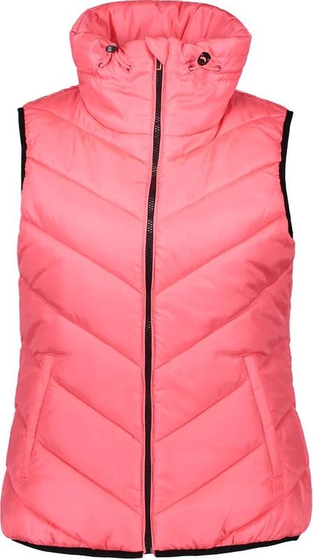 Różowa kamizelka Esprit w stylu casual krótka