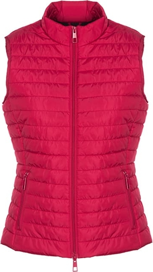 Różowa kamizelka Geox krótka w stylu casual