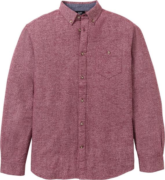 Różowa koszula bonprix bpc bonprix collection