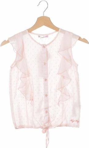 Różowa koszula dziecięca Naf naf