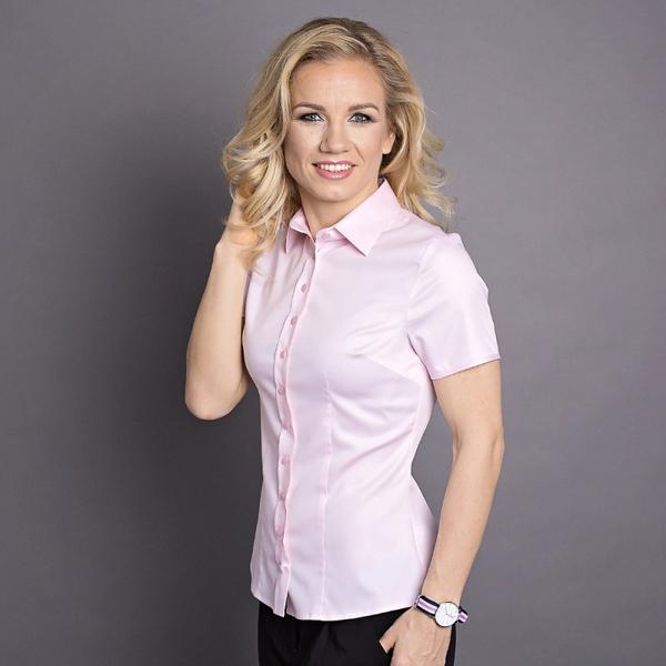 Różowa koszula Willsoor