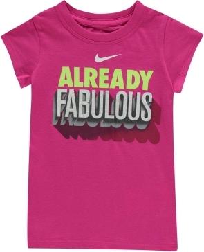 Różowa koszulka dziecięca Nike
