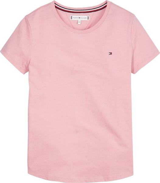 Różowa koszulka dziecięca Tommy Hilfiger