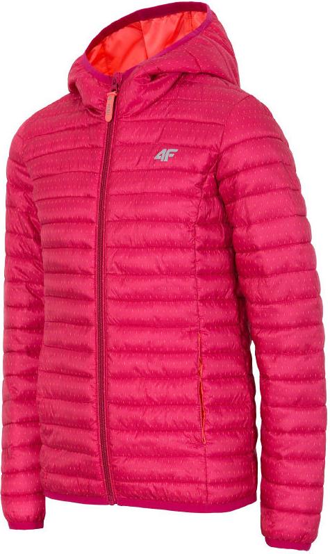 Różowa kurtka dziecięca 4F