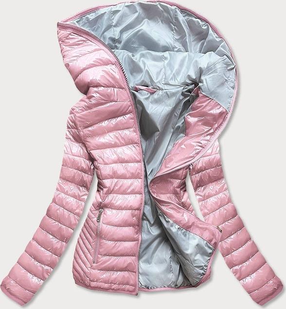 Różowa kurtka Goodlookin.pl krótka