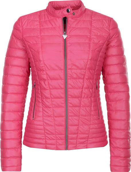 Różowa kurtka Guess Jeans krótka