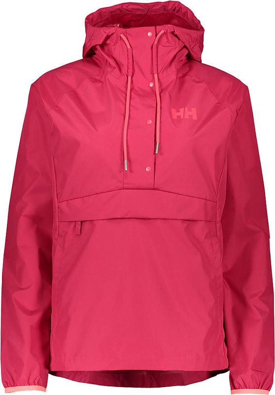 Różowa kurtka Helly Hansen krótka