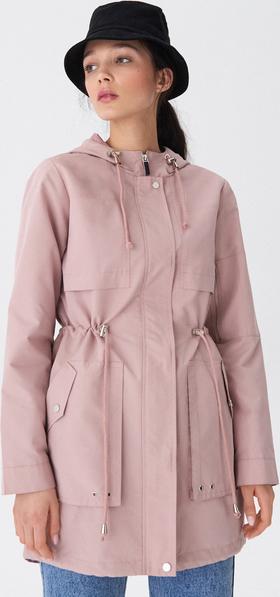 Różowa kurtka House w stylu casual