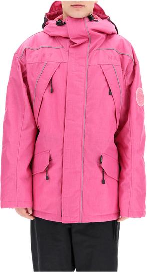 Różowa kurtka Napa By Martine Rose