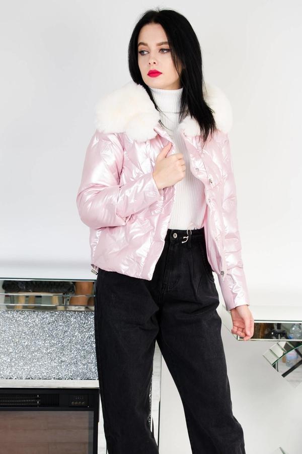 Różowa kurtka Olika