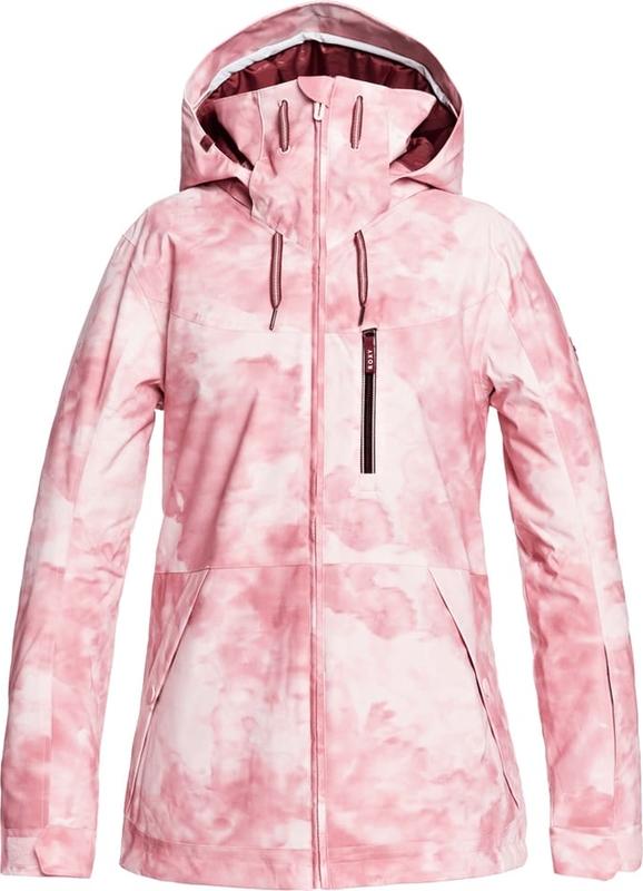 Różowa kurtka Roxy w stylu casual krótka