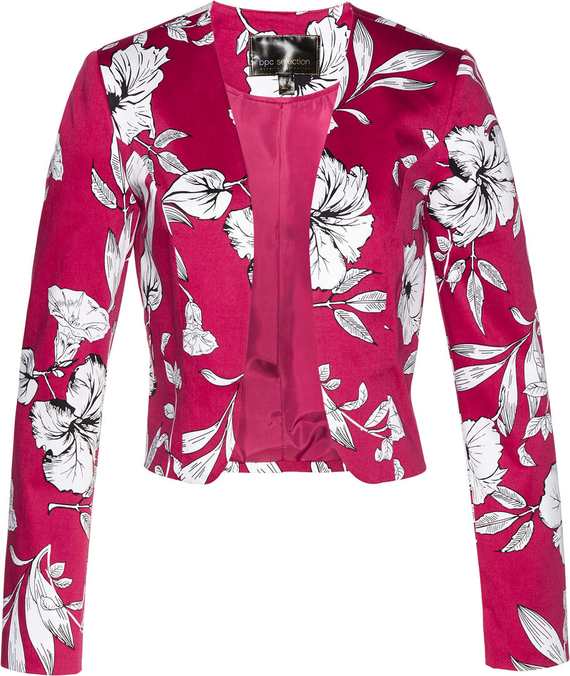 Różowa marynarka bonprix bpc selection