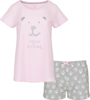 Różowa piżama Endo dla dziewczynek