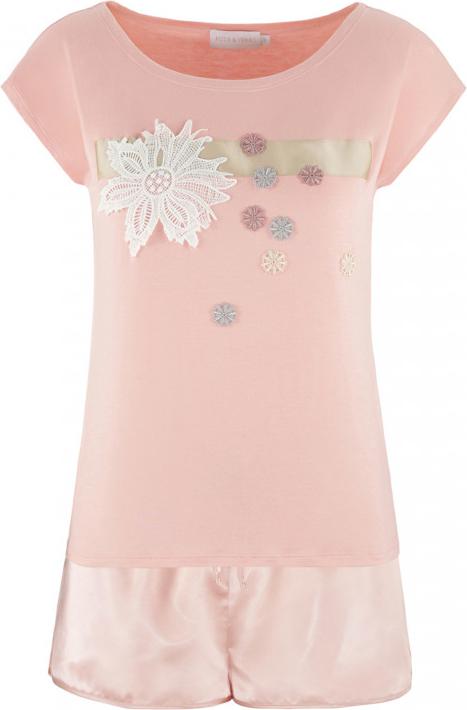 Różowa piżama POTIS & VERSO