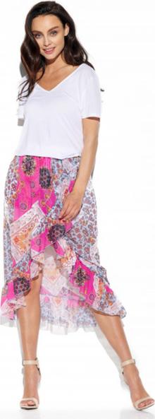 Różowa spódnica Lemoniade z jedwabiu