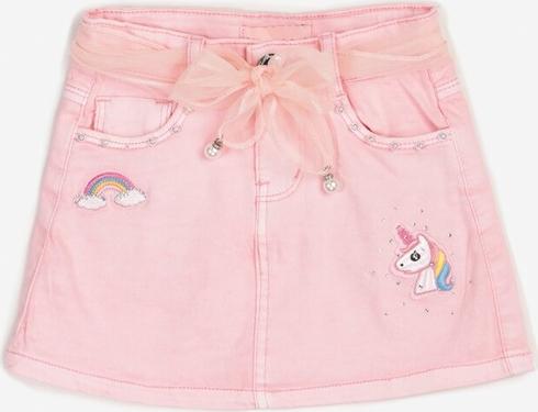 Różowa spódniczka dziewczęca born2be