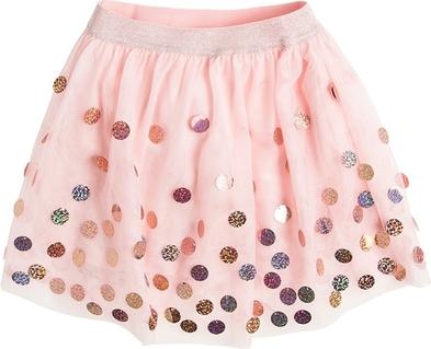 Różowa spódniczka dziewczęca Cool Club z bawełny