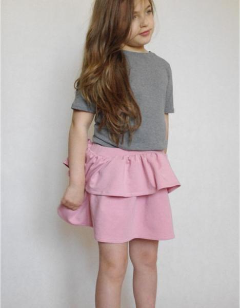 Różowa spódniczka dziewczęca Fajnieubieramy