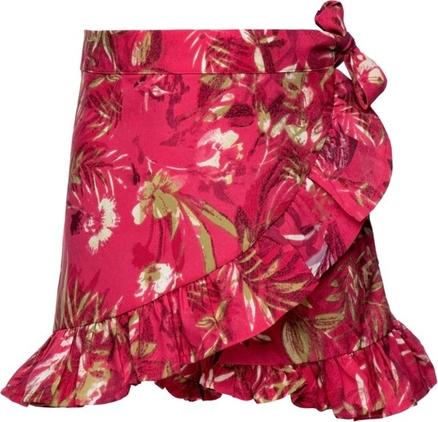 Różowa spódniczka dziewczęca Primigi w kwiatki
