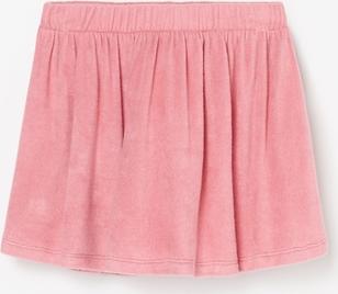 Różowa spódniczka dziewczęca Reserved z tkaniny