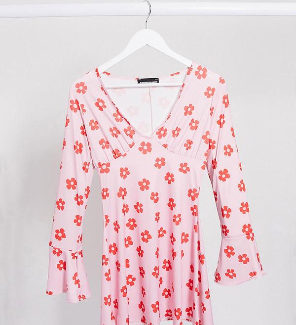 Różowa sukienka ANOTHER REASON mini