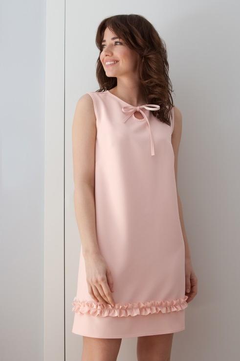 Różowa sukienka butik-choice.pl
