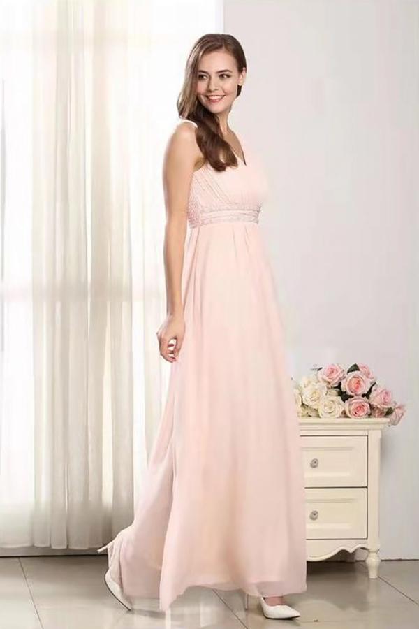 Różowa sukienka Butik Ecru maxi
