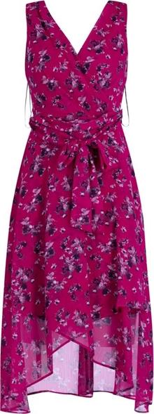 Różowa sukienka DKNY