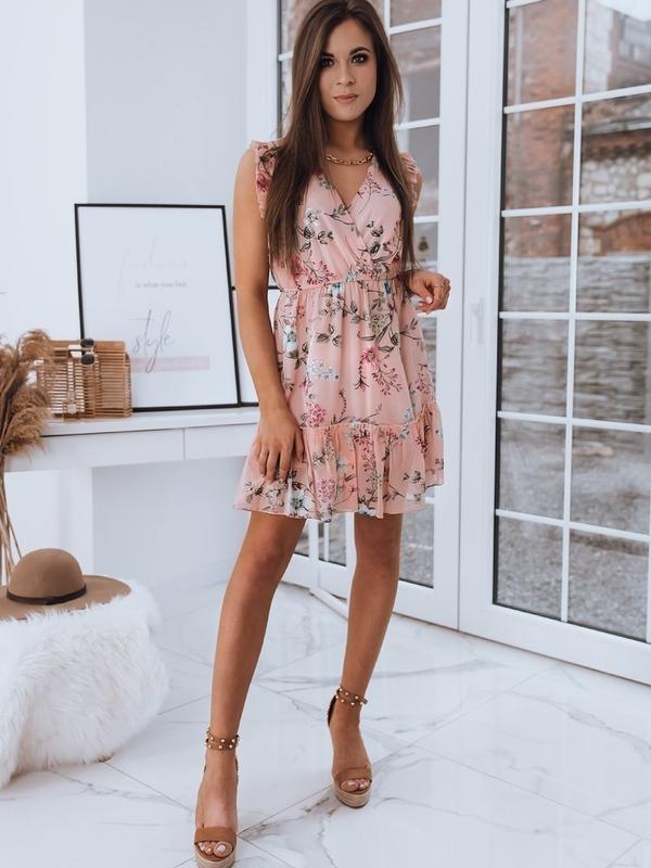Różowa sukienka Dstreet mini