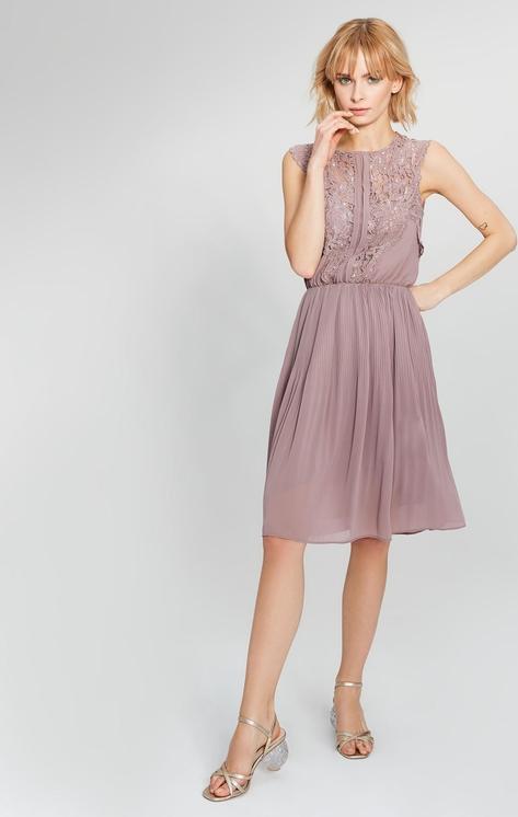 Różowa sukienka FEMESTAGE Eva Minge