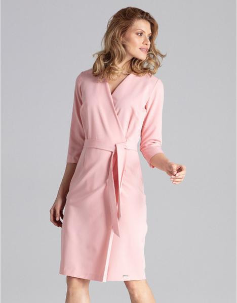 Różowa sukienka Figl